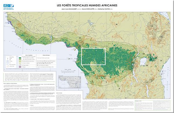 Carte Afrique Foret.Les Forets Tropicales Humides Africaines